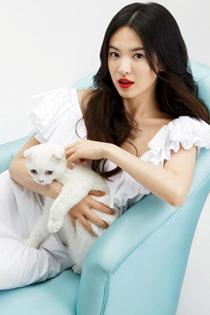韩国美女明星宋慧乔靓丽写真