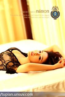 中国内地女演员,当红名模邱箫婵个性写真